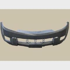 Бампер передний (пластик черный не крашеный) Great Wall Hover