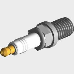 Свечи зажигания комплект (480ef 473h 477f трехконтактые) torch ZX Admiral Адмирал