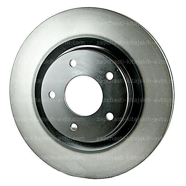Тормозной диск задний Nissan Qashqai