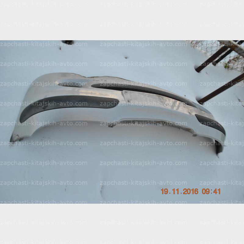 Бампер передний серый металлик дефект Mercedes W168 A-class