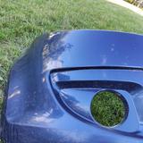 Бампер передний синий оригинал есть дефект Chery Kimo
